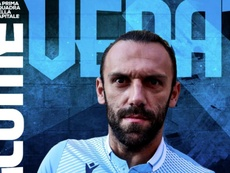 Lazio have signed Muriqi. Screenshot/Twitter/OfficialSSLazio