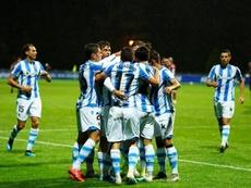 La Real B ganó al Salamanca. Twitter/RealSociedad