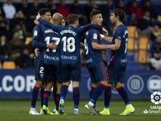 El Huesca gana en Alcorcón. LaLiga