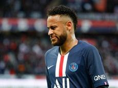 Neymar fue criticado por el entrenador del Montpellier. AFP