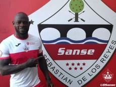 La UD Sanse anunció la incorporación de Achille Emana. UDSanse