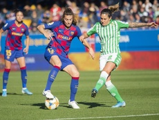El Barcelona Femenino sigue imparable y se llevó los tres puntos ante el Betis. Twitter/FCBfemeni