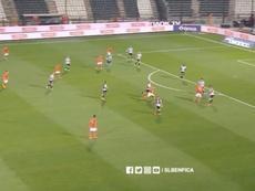 El PAOK, a la siguiente ronda. Captura/SLBenfica