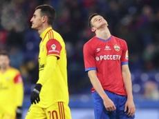 Krasnodar y CSKA pinchan y se alejan del liderato. PFC_CSKA