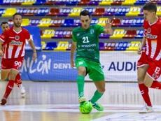El BeSoccer CD UMA Antequera se prueba ante el CD El Ejido Futsal. BeSoccerCDUMAAntequera