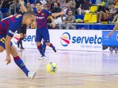 El Palma Futsal le inflige al Barça su primera derrota. FCBFutbolSala
