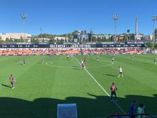 Valencia Mestalla y Barça B empataron sin goles. FCBarcelonaB