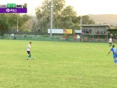 El Racing empató, mientras que el Extremadura goleó. Captura/YouTube/RealRacingClub