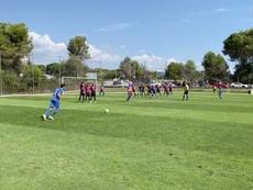 El Sabadell ganó al Andorra. Captura/Twitter/fcandorra