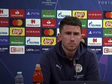 Laporte s'est exprimé en conférence de presse. EFE