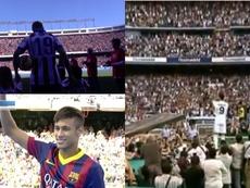Les 10 meilleures présentations dans l'histoire du football. Montage/BeSoccer