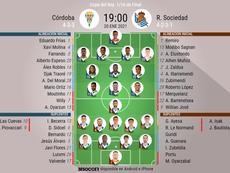 El Córdoba-Real Sociedad, en directo. BeSoccer