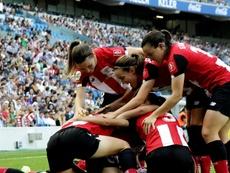 El Athletic fue muy superior a la Real Sociedad. EFE