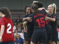 El Atleti Femenino estará en la ICC. Twitter/AtletiFemenino