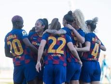 Aquí manda el Barça. Twitter/FCBarcelonaFemení
