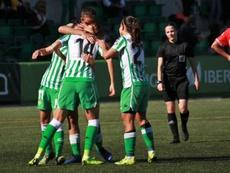 El Betis suma y sigue en Liga. Twitter/RealBetisFem