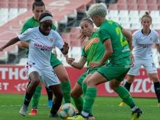 La Real Sociedad Femenina ganó por 1-2. Twitter/SevillaFC_Fem