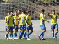 Las Palmas Atlético se mide al Getafe en Canarias. Twitter/UDLP_Oficial