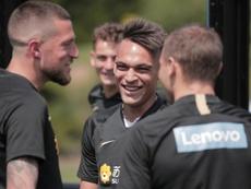 Junior mais 70 milhões para contratar Lautaro. Twitter/Inter