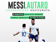 Il Barcellona sogna la coppia Messi-Lautaro. BeSoccer
