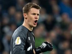 La famille de Nübel a été menacée après son transfert au Bayern. AFP