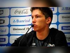 La photo du jeune homme, lors d'une conférence de presse. AFP