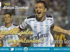 El Atlético Tucumán ya no contará con el delantero argentino. ATOficial