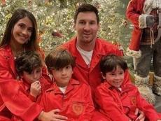 Messi, Cristiano Ronaldo e outros craques te desejam um Feliz Natal. Instagram