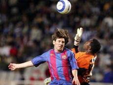 Messi had an incredible mentor. AFP