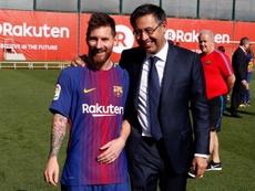 Messi, Neymar, Rabiot... Bartomeu analiza al Barça del presente y el futuro. Twitter/FCBarcelona