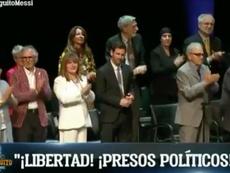 Messi smette di applaudire. Captura/ElChiringuitoTV