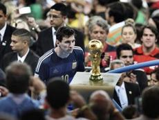 Messi y su particular 'Maracanazo'. AFP