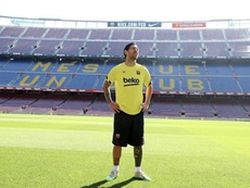 Messi retrouve le Camp Nou. Instagram/LeoMessi