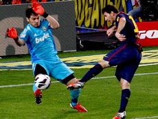 Leo no faltó: este fue su mensaje a Casillas por su retirada. EFE