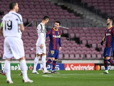 Arthur Melo compare Leo Messi et Cristiano Ronaldo. AFP