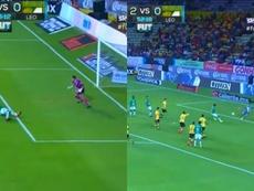 León le doy la vuelta al partido en la segunda mitad. Twitter/SkySports