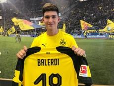 Balerdi se despidió de Boca Juniors. BVB