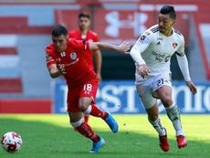 Leo Fernández sería uno de los objetivos del Benfica. CDToluca