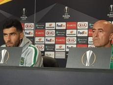 Leonel Pontes tiene la confianza de la directiva. Twitter/Sporting_CP