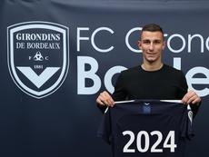 Oudin signe à Bordeaux. GOAL