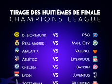 Suivez le direct du tirage au sort de Champions League. EFE