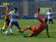 Católica golea; Wanderers echa el freno a Curicó. Captura/CDF