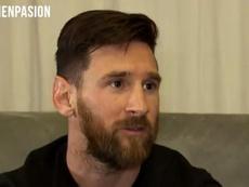Messi doesn't see himself at any other European club. Screenshot/PasiónPorElFútbol