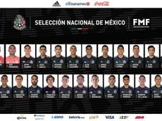 México da su prelista para la CONCACAF Liga de las Naciones. Twitter/MiSeleccionMX