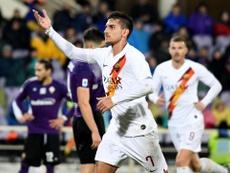 Lorenzo  Pellegrini llegará ante el Sevilla. EFE
