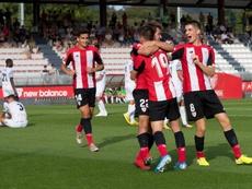 Los 'cachorros' lograron su primera victoria en Lezama de la temporada. Twitter/AthleticClub