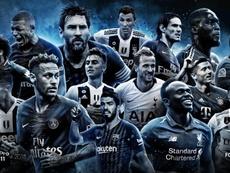 Estes são os 15 atacantes finalistas do FIFPro. FIFPro