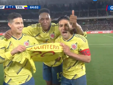 Quintero estuvo en el gol de Falcao. GolCaracol