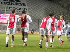 El Ajax perdió en su trámite contra el Bayern. Twitter/AFCAjax