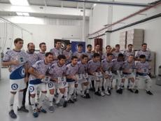 Cientos de polvorones en la camiseta acompañarán al equipo vallisoletano. Twitter/AtcoTordesillas